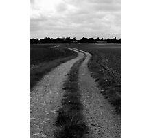 Empty path Photographic Print