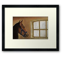 Reflections of Days Gone By Framed Print