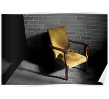 Chair by Night, Bed by Day Poster
