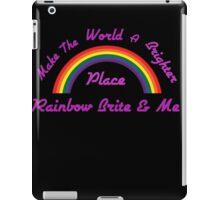 Rainbow Brite and Me iPad Case/Skin