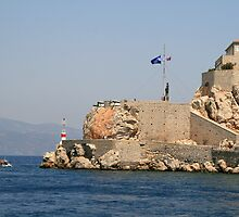 The Entrance to Hydra Harbour by DRWilliams