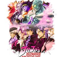 JoJo's Bizarre Adventure - Stardust Crusaders English Logo by Onimihawk