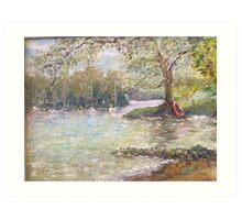 Lake Windermere Art Print