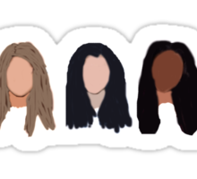 Fifth Harmony Characters Sticker