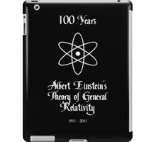100 Year Anniversary Albert Einstein's Theory of General Relativity iPad Case/Skin