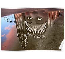 Luna Puddle Poster