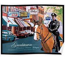 Greektown Detroit Poster