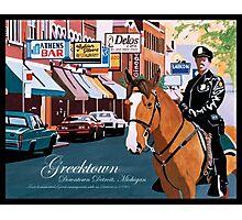 Greektown Detroit Photographic Print