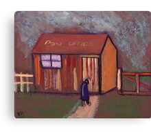 The worlds smallest post office Canvas Print
