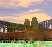 Spanning The Years - Moods Of A City - The HDR Experience by Philip Johnson