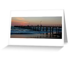 Port Noarlunga, Adelaide Greeting Card