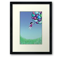 Hunting for Clouds Framed Print