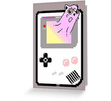 Merging Worlds ( Jigglypuff ) - Pokemon / Gameboy Greeting Card