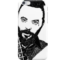 Justin Furstenfeld-Blue October Sharpie Drawing iPhone Case/Skin