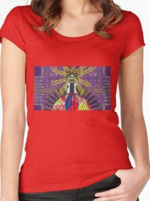 medusa Women's Fitted Scoop T-Shirt