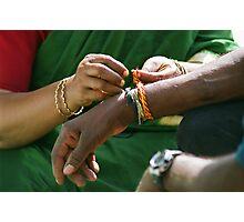 Wrist bands Photographic Print