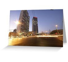 Tel Aviv a nonstop city Greeting Card