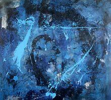 Dancing Blue 3 by Paul James