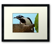 """""""Touch of Blue"""" Framed Print"""