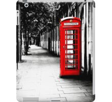 London Calling - Iconic British Phone Box iPad Case/Skin