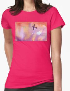airplane over sunset T-Shirt
