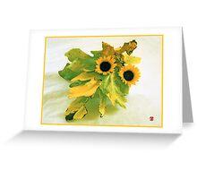 Ikebana-009 Greeting Card  Greeting Card