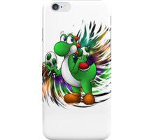 Super Smash Bros 4 Yoshi iPhone Case/Skin