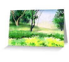 Let's go for a walk Greeting Card