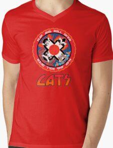CATS Mens V-Neck T-Shirt