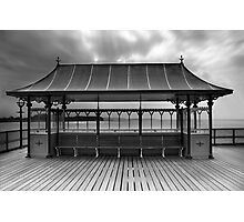 Clevedon Pier Shelter Photographic Print
