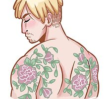 Tattoo AU Mike by ebozone