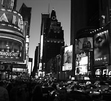 Times Square 2002 by John Schneider