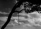 When you reach the end of your rope, tie a knot in it and hang on. by Alex Preiss