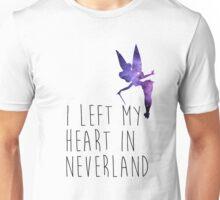 I Left my Heart in Neverland Unisex T-Shirt