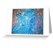 Angels Dancing on a Pinhead Greeting Card