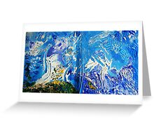 Forty Fathoms Greeting Card
