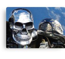 Skulls and Skies Canvas Print