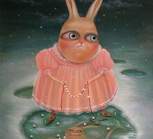 Seasons - Winter 80 x 60 cm. Original Painting - Sold by Irena Aizen