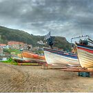 Fishing boats by WhartonWizard