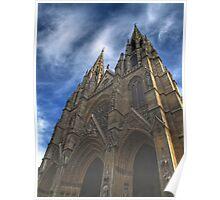 Sainte-Clotilde basilica in Paris Poster
