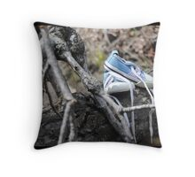My Path Goes Up Throw Pillow