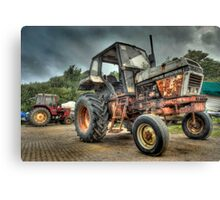 Fishermans Tractor Canvas Print