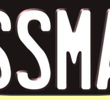VANTIY PLATES - Assman Sticker