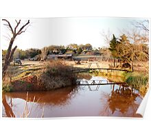 Cattle Ranch Poster