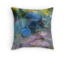 Metaphysical Space of Silence and Illusion Throw Pillow