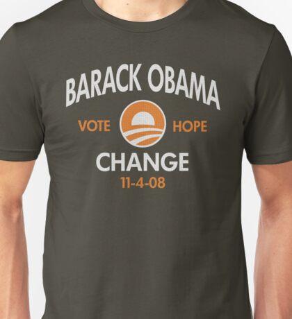 Obama Vote Hope t shirt Unisex T-Shirt