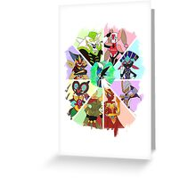 Chesnaught & Lopunny Greeting Card