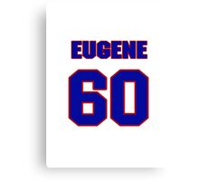 National football player Eugene Monroe jersey 60 Canvas Print