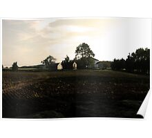 Harvest at Buttonwood Farm Poster