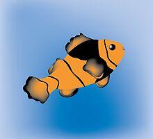 Clown Fish by notrightyet